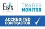 EBIX Accredited Contractor Logo