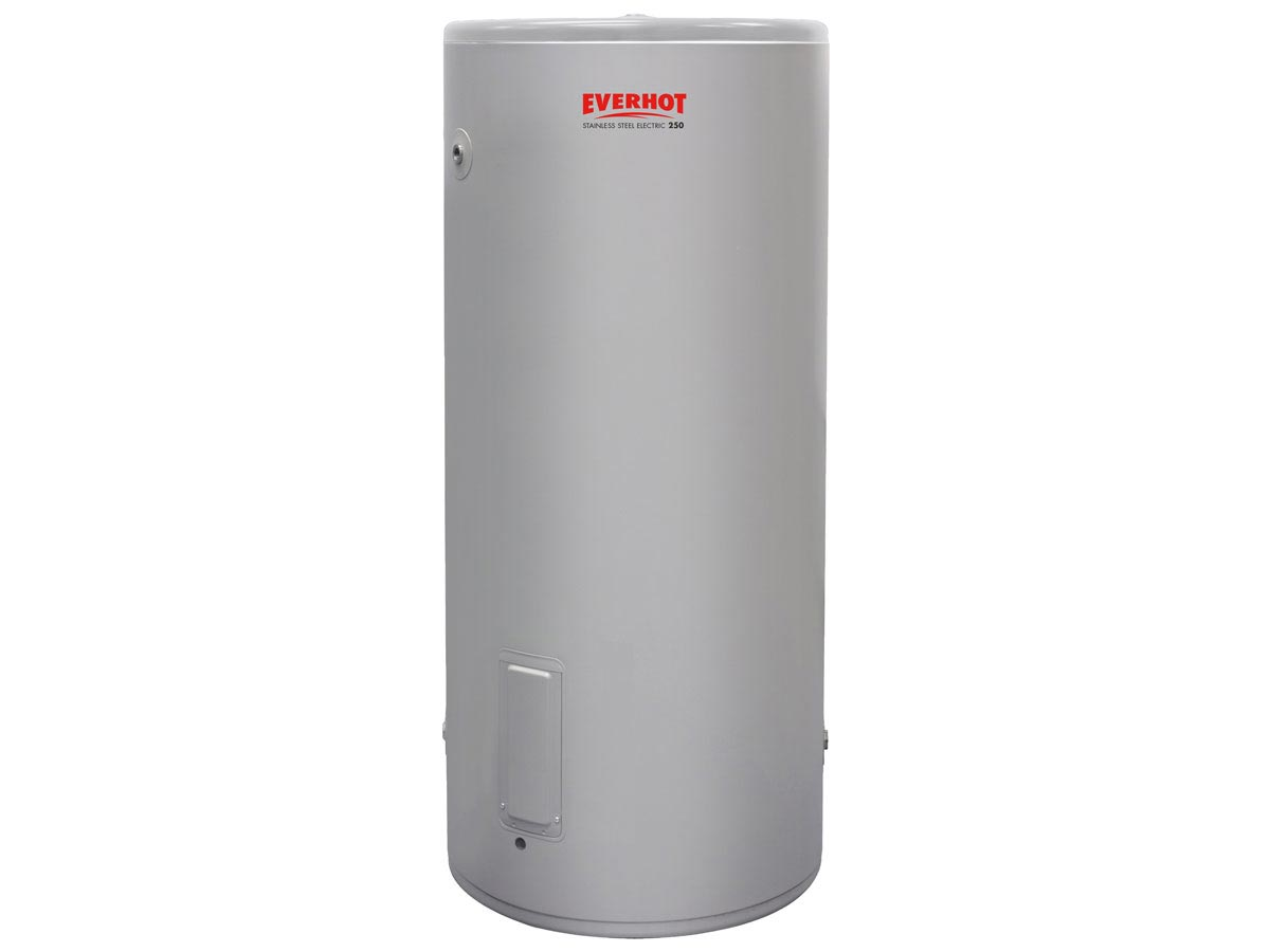 Everhot 250L Stainless Steel Electric Water Heater