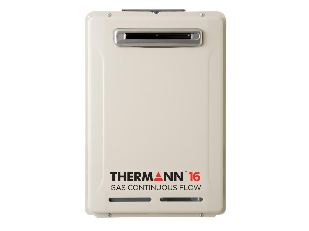 Therman 6 Star 16L Gas Continuous Flow Hot Water System