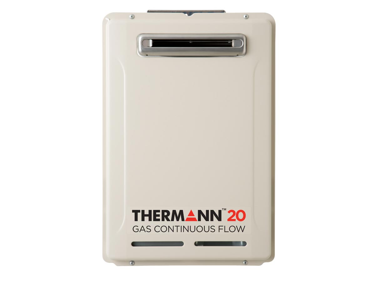 Therman 6 Star 20L Gas Continuous Flow Hot Water System