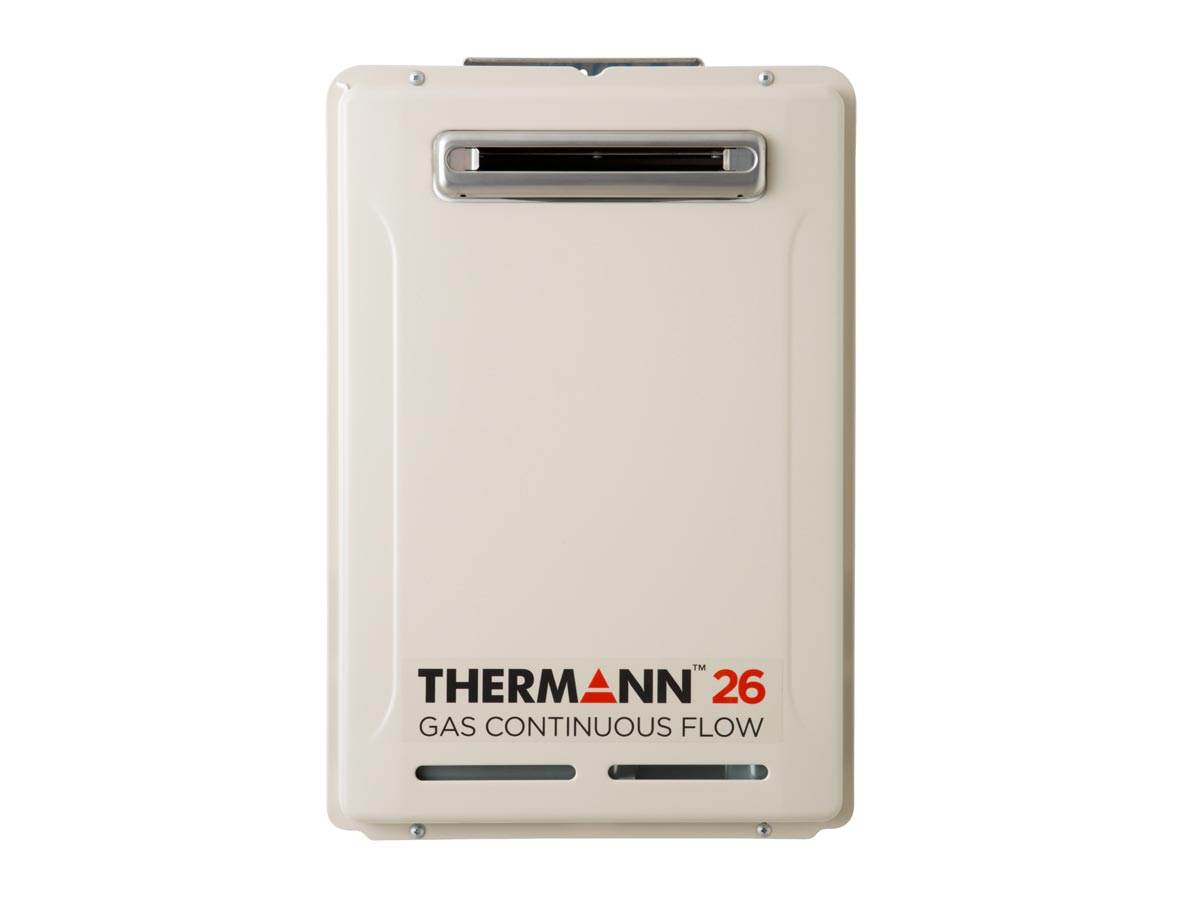 Therman 6 Star 26L Gas Continuous Flow Hot Water System