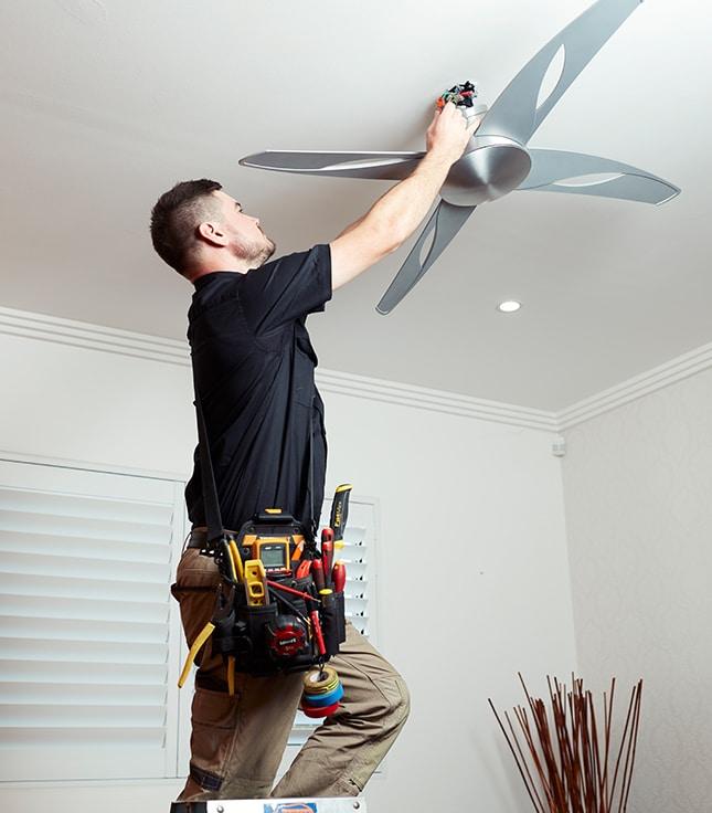 Ceiling Fan Installation Electrician
