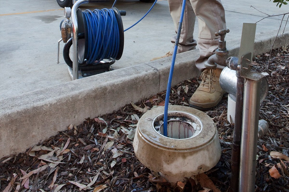 Clearing A Blocked Drain
